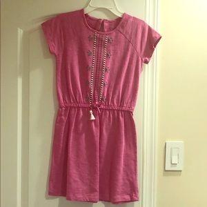 Girls Pink Spring Dress